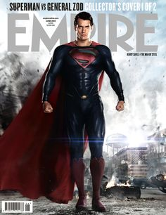 Superman - MAN OF STEEL, Empire Magazine cover 1/2