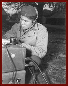 WWll Navajo Code Talkers are the hot topic for our Homeschoolers. During WWII our military utilized the Navajo language as a key method of communication between ranks. Native American Pictures, Native American Quotes, Indian Pictures, Native American History, Native American Indians, American Symbols, Native Indian, Native Americans, Cherokee History