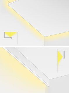 Парящий потолок — (LED подсветка)