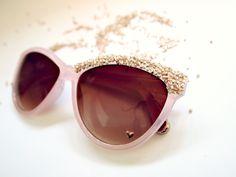 DIY: Embellished Sunglasses