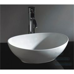 Oval Ceramic Above Counter Basin