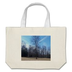 Rustic Tree & Blue Sky Canvas Bag!  There's a great selection of styles to choose from.  Starting around $22 this bag is very affordable!