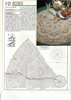 1000 Mailles № 139 — Yandex. Filet Crochet, Crochet Diagram, Crochet Round, Thread Crochet, Love Crochet, Crochet Motif, Crochet Doilies, Knit Crochet, Crochet Tablecloth Pattern