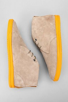 yellow soles . mens shoes Chukka Sneakers 7cf893bf0