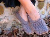 crochet slipper gifts