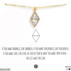 Necklaces Dainty Bryan Anthonys Dainty Reflection Necklace- Triangle and Diamond Crystal necklace. Perfect for layering. Initial Pendant Necklace, Dainty Necklace, Crystal Necklace, Small Tattoos With Meaning Quotes, Yellow Pendants, Cute Jewelry, Jewelry Ideas, Jewlery, Diamond Tattoos