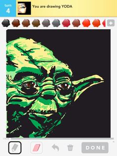 draw something - yoda