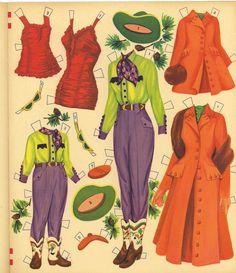 Vintage Uncut Two Marys Paper Dolls HD Digital Reproduction Pretty Lo Price Hi Q | eBay