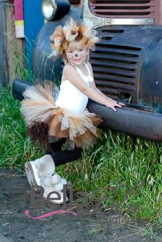 Lion Tutu Halloween costume