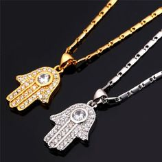 We just released our latest product, Hamsa Lucky Hand ...! What do you think of it? http://levelupdeal.com/products/hamsa-lucky-hand-cubic-zirconia-18k-gold-or-platinum-plated-pendant-necklace-1?utm_campaign=social_autopilot&utm_source=pin&utm_medium=pin
