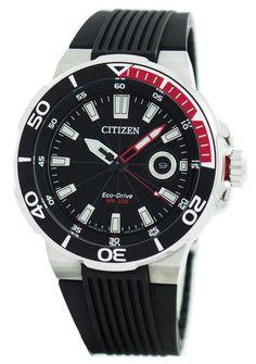 e18b23bbad4 Citizen Eco-Drive Diver s 200M AW1420-04E Men s Watch