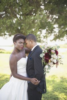 Bayvue Estate | Gloucester, Virginia Wedding | Burgundy, and white patriotic wedding inspiration | Bride and groom portraits