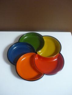 Vintage Lacquerware Sectioned Appetizer Tray by bellaroni on Etsy, $20.00