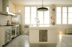 Regards et Maisons Blog- Kitchen- Loft Paris