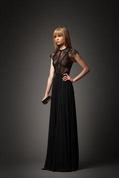 ELIE SAAB Pre-Fall 2012 I'd like this dress for the banquet in Rome.