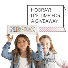 We're hosting a giveaway on Facebook! Enter for a chance to win 1 year's worth of free clothes from Kidbox. Follow us at https://www.facebook.com/KidboxFamily/ for more info. #Giveaway #Kidbox