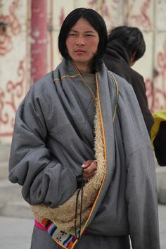 proud tibetan man, via Flickr.