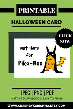 """I literally love the expressions on pikachu's face and a combination of batman with Pikachu is just incredible. Pikachu as Batman in Halloween Costume - Halloween card saying """"Not Here For Pika -Boo"""" Anime Card Pokemon cards Rare, Cool, Template, Art, Custom, For sale, Funny, Printable, Pikachu, batman Art, Drawing, Artwork, Funny, Sketch, Art drawing, Cartoon, Fanart, halloween card Handmade Ideas For kids, For boyfriend, Sayings, Funny, Cute, Happy #pikachu #pokemon #halloween #etsy #cards Diy Halloween Decorations, Halloween Cards, Costume Halloween, Student Planner Printable, Printable Cards, Printables, Pikachu Pokemon Card, Pokemon Cards, Batman Cartoon"""