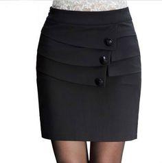 Iraqis Extraordinary Summer Skirt Spring And Autumn Package Skirta Korean Version Of The Skirts Korea Package Hip Spring And Summer Skirt Pants, Dress Skirt, Peplum Dress, Business Casual Skirt, African Dresses For Kids, Straight Dress, Classic Skirts, Summer Skirts, Office Outfits