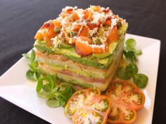 Clean Recipes, Fish Recipes, Salmon Y Aguacate, Bolivian Food, Appetizer Sandwiches, Appetizers, Quiche, Healthy Recepies, Brunch