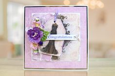 The Peach Sorbet collection brings a new concept, building on the incredibly popular torn edge collections.   For more information visit: www.tatteredlace.co.uk Peach Sorbet, Tattered Lace Cards, Congratulations, Concept, Woods, Collections, Popular, Building, Most Popular