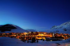 Alpe d'Huez by night !