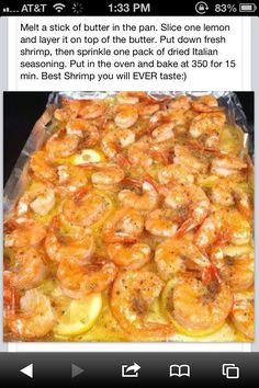 Shrimp! Seems easy enough!