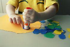 little blue and little yellow book activities #crayonfreckles