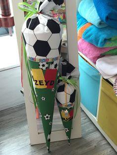 Schultüte Fußball grün