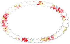 Free Shabby Vintage Rose Oval 1 by FPTFY