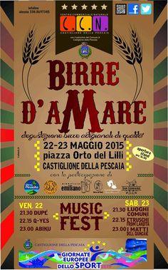 Birre d'aMARE 2015 Castiglione della Pescaia http://www.facciadamalto.it/evento/birre-damare-2015-castiglione-della-pescaia/ #Festival #Birra #Musica
