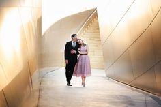 Magical Engagement Session at Walt Disney Concert Hall ~ D. Park Photography