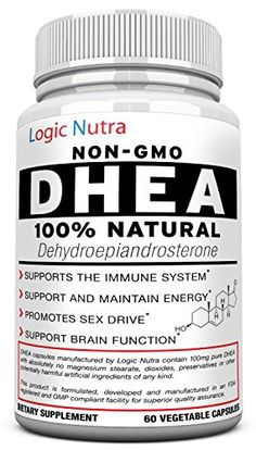 DHEA 100 mg Maximum Strength Supplement  Look  Feel Younger  Balance Hormone Levels For Men  Women  60 Vegetable Capsules Guaranteed To Work Or Your Money Back No Questions Asked * Want additional info? Click on the image.