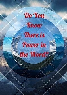 "The word of God is alive. There are those that have now discovered power words and what God has already said in ""His words."" . . . Read more now at. . . .http://anointedtoday.blogspot.com/2015/11/do-you-know-there-is-awesome-power-in.html"