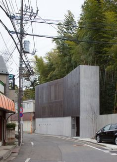 Le plus récent Pic Style Architectural japonais Réflexions Architecture Cool, Architecture Résidentielle, Contemporary Architecture, Installation Architecture, Japanese Buildings, Arch House, Narrow House, Japanese House, Built Environment