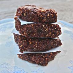 Raw brownies: gluten, dairy & sugar free | Deliciously Ella