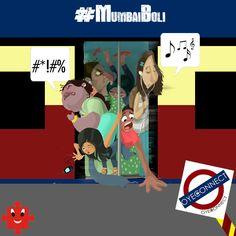 | MUMBAI LOCAL |  #MumbaiBoli #MumbaiSlang #lingo #LocalTrain #comic