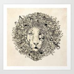 The King's Awakening Art Print by Kerby Rosanes