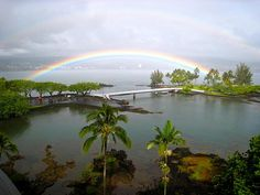 Double Rainbow over coconut island by Boots in the Oven, via Flickr