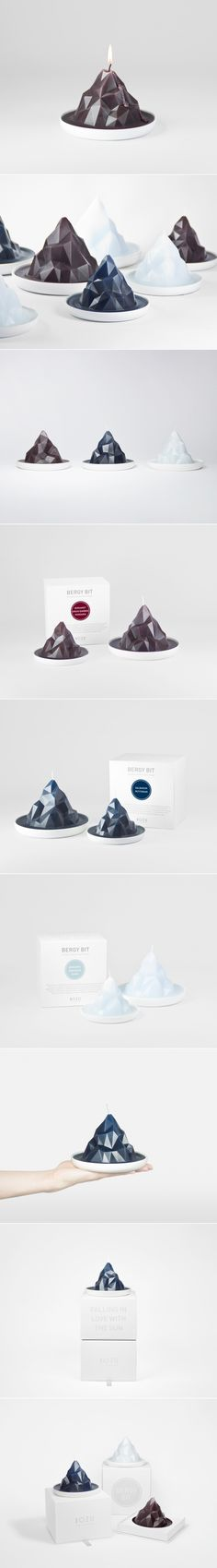 Bergy Bit Iceburg Candle — The Dieline | Packaging & Branding Design & Innovation News