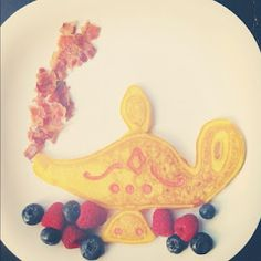 Buggie and Jellybean: genie bottle Pancake Art Pancake Art, Make A Wish, How To Make, Genie Bottle, Jelly Beans, Pancakes, Fancy, Shapes, Play