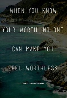 Self worth