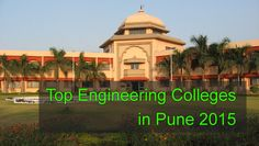 top engineering colleges in pune 2015