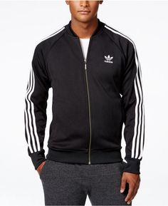 20e77ed81fc9e adidas Originals Men s Superstar Zippered Track Jacket Adidas Jacket Mens