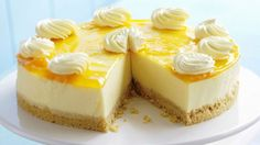 Käsekuchen mit Mango Rezept | EAT SMARTER