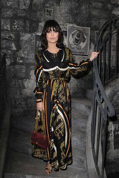 Alessandra Mastronardi Chanel Metiers dArts Fashion Show in Rome