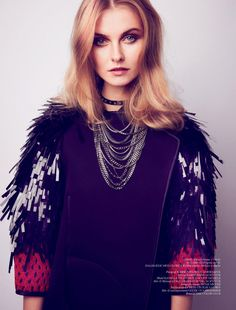 credit: Kamila Filipcikova by Hasse Nielsen for Cover Magazine #72, Dec. 2011