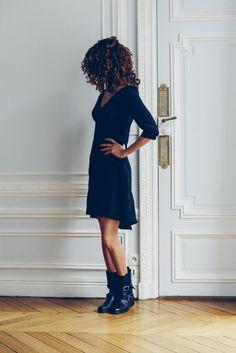 Patron de couture PDF Vanessa Pouzet, ultra facile et rapide. Robe trapèze tout…