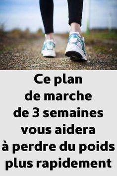 Ce plan de marche de 3 semaines vous aidera à perdre du poids plus rapidement