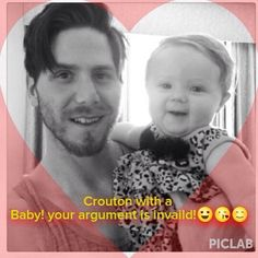 This is the best edit ever! Crouton is definitely my #mcm!